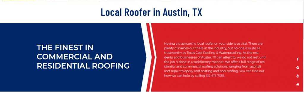 Austin Roofer Content