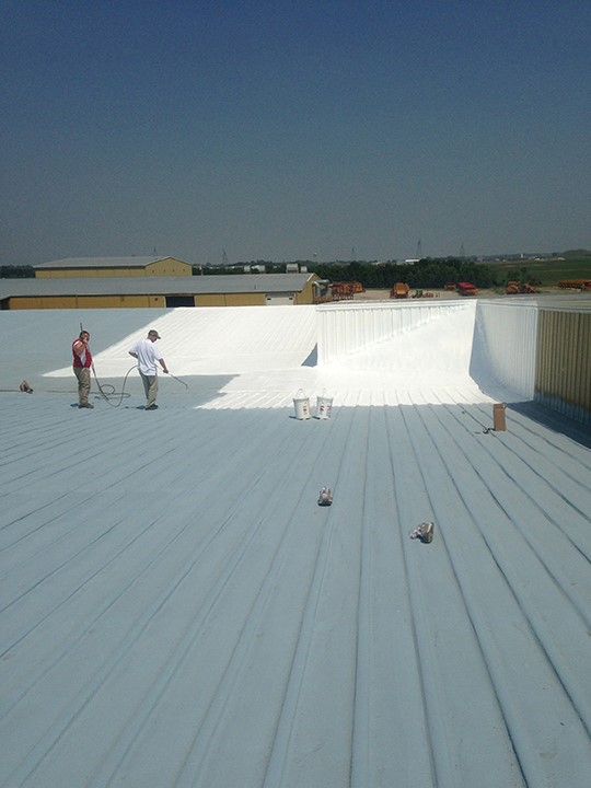 Commercial Foam Coating