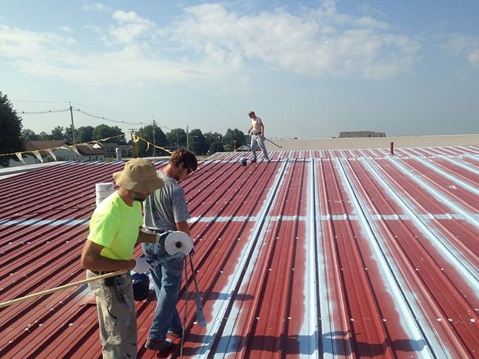 Commercial Standing Seam Roof Installation