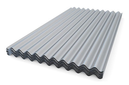 Corrugated Metal Commercial Roofing