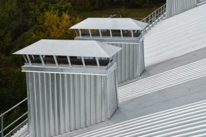 Commercial Metal Roofing With Corrugated Panels
