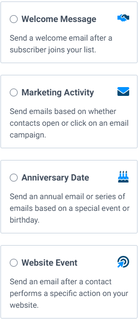 Email Automation Options