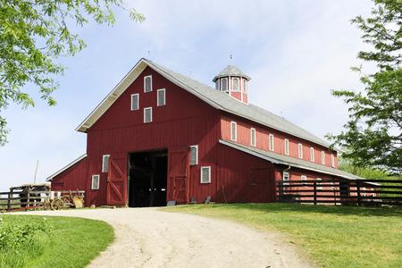 Entrance Way To Barn