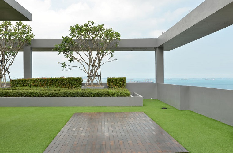 Commercial Rental Property With Extensive Green Roofing