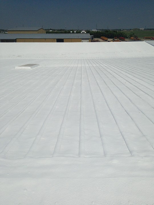 Foam Roof Surface
