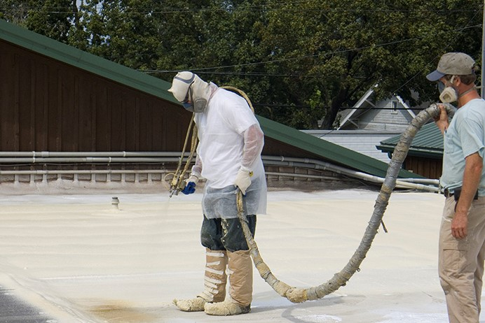 Industrial Roof Coating