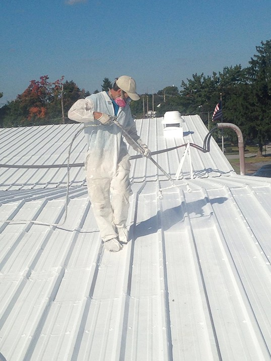 Metal Commercial Roof Coating