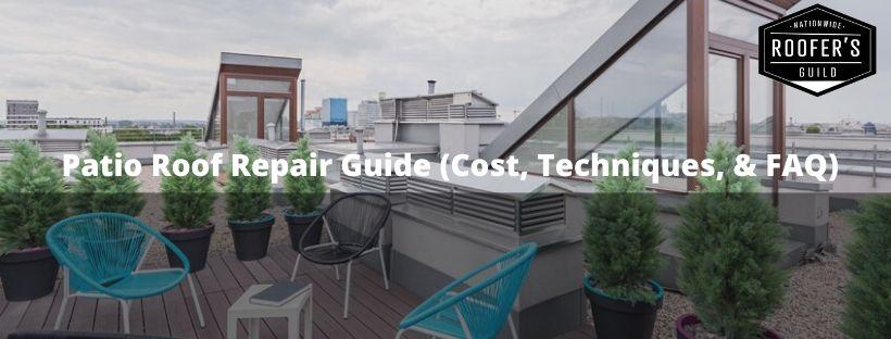Patio Roof Repair Guide
