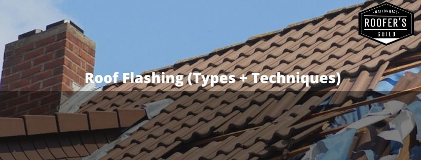Roof Flashing Types Techniques
