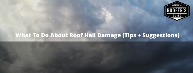 Roof Hail Damage (Blog Cover)