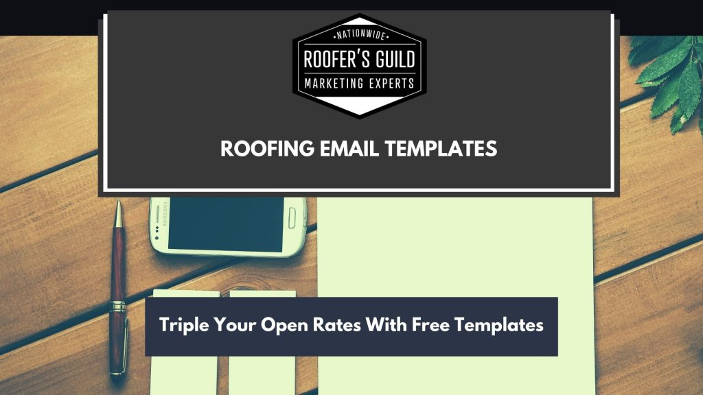Roofing Email Templates