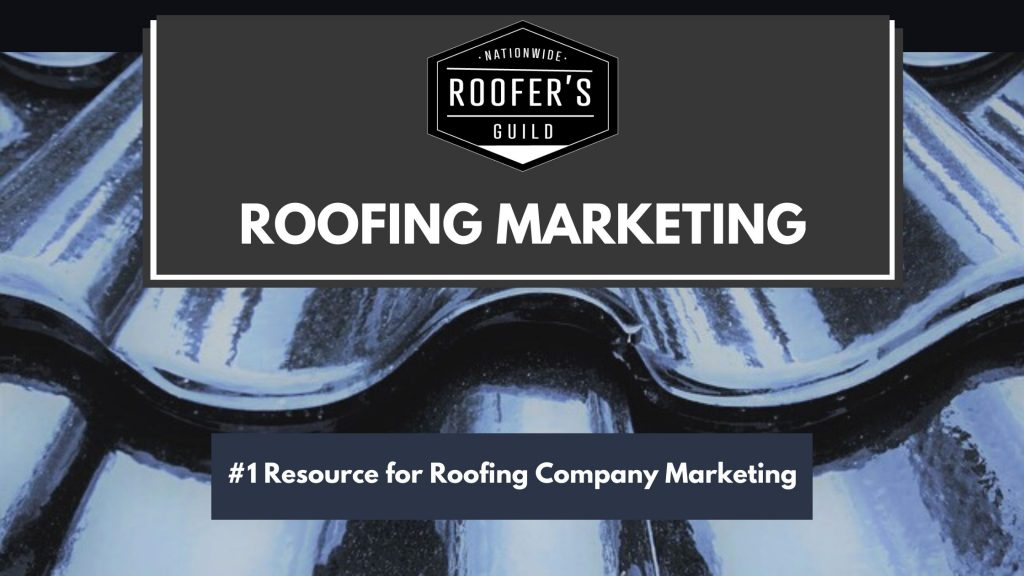 Roofing Marketing Resource