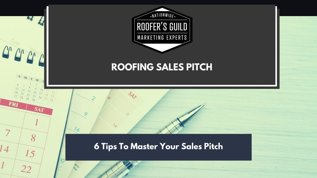 Roofing Sales Pitch