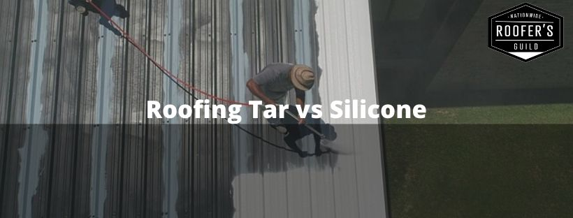 Roofing Tar vs Silicone Blog Banner