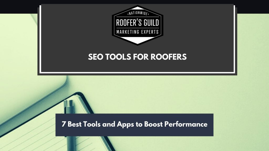 SEO Tools for Roofers