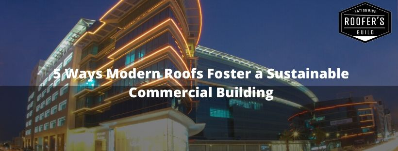 Sustainable Commercial Building Cover
