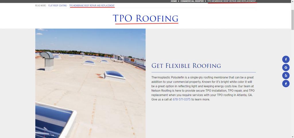 TPO Service Page