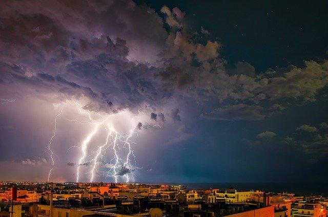 What Happens When Lightning Strikes Metal