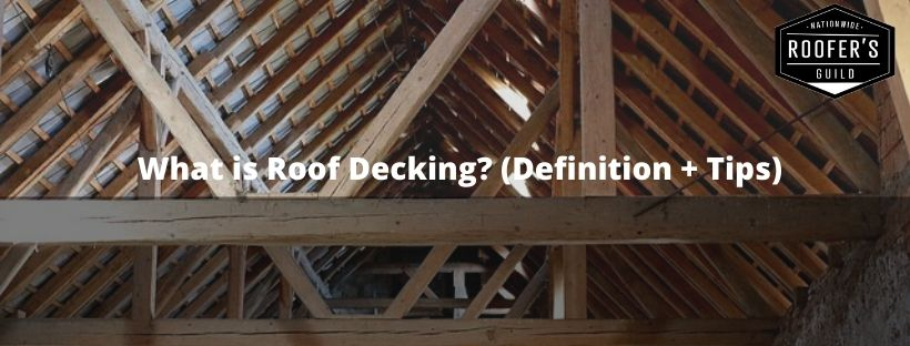 What is Roof Decking Graphic